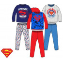 Kids long pyjamas Superman 3-8 years