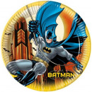 Batman papier plaat 8-piece 23 cm