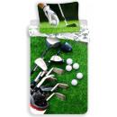 Pościel golfowa 140 x 200 cm, 70 × 90 cm