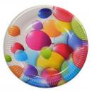 ingrosso Articoli da Regalo & Cartoleria: piatto di carta  Balloon di 10 pezzi 19,5 cm