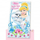 Serviette Disney  Princess Palais Animaux 70 * 140