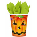 Halloween paper cup 8 pcs 266 ml