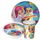 wholesale Houshold & Kitchen: Kitchenware, melamine set Shimmer and Shine