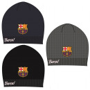 Men's knit cap FCB, FC Barcelona