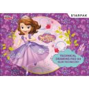 Disney Sofia 20-sheet drawing pad A / 4