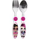 LOL Surprise metal cutlery set - 2 pieces