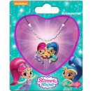 Shimmer and Shine Necklace + Pendant Set