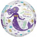 Mermaid, Mermaid Foil balloons 40 cm