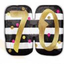 Happy Birthday 70 Foil balloons 63 cm