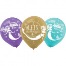 Mermaid, Mermaid balloon, balloons with 6 pieces