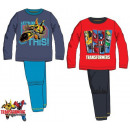 Kids Long pyjamas Transformers 3-8 Years