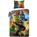 LEGO Ninjago-Bettbezüge sind 140 × 200 cm, 70 × 90
