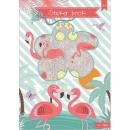 Album z naklejkami Flamingo, Flamingo