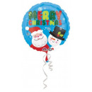 Frohe Weihnachten, Happy Christmas Foil Ballons