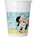 mayorista Artículos con licencia: Disney Minnie Plastic Cup 8 piezas 200 ml