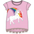 T-shirt court Emoji Unicorn Kids, top 3-8 ans