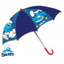 groothandel Licentie artikelen: Kinderen paraplu  Smurfen, Smurfen Ø65 cm