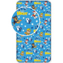 Fitted Sheet Paw Patrol , Manch Protection 90 * 20