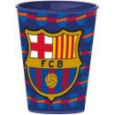 Großhandel Lizenzartikel: FCB Barcelona  Tassen, Kunststoff 260 ml
