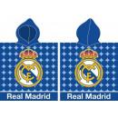 Real Madrid towel poncho 55 * 115cm