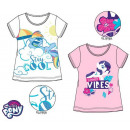My little pony kid is a short t-shirt, top 3-8 yea