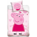 Kinderbett Peppa Pig 100 × 135 cm, 40 × 60 cm