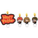 Świeca do ciasta Harry Potter, zestaw 4 świec