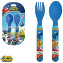 Cutlery Set - 2-Piece Super Wings