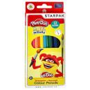 Zestaw kredek Play-Doh Aquarell z pędzelkiem