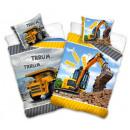 Construction, Construction linens 160 × 200cm