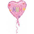 Ich liebe dich Mama, ich liebe dich Mama Folienbal