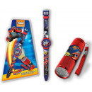 Flashlight + LED  digital watch Blaze, Flame