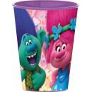 Trolls , Trolle szklane, plastikowe 260 ml