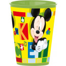 wholesale Party Items: DisneyMickey glass, plastic 260 ml