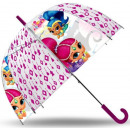 wholesale Bags & Travel accessories: Kids Transparent  Umbrella Shimmer and Shine Ø70 cm