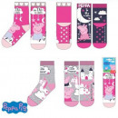 wholesale Socks and tights: Peppa pig Kids in thick non-slip socks