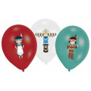 Tipi & Tomahawk Ballon mit 6 Ballons