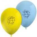 Peppa pig balloon, balloons 8 pcs