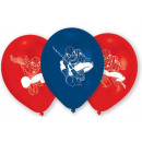 Spiderman , Spiderman Balloon, Balloon 6 pcs