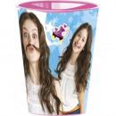 Disney Soy Luna glass, plastic 260 ml