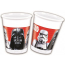 Star Wars Plastic cup 8 pcs 200 ml