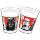 Star Wars plastic bekertjes 8 stuks 200 mL