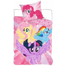 My little pony linen cover is 140 × 200cm, 70 × 90