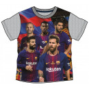 Kinder T-shirt, FCB Top, FC Barcelona 4-9 jaar