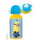 Aluminum water bottle Minions 400ml
