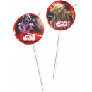 wholesale Party Items: Star Wars Dark Side straw, set of 8