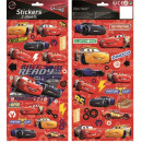 Sticker 2 Arch Disney Cars , Verdas