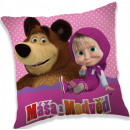 Masha and the Bear cushion, cushion 40 * 40 cm