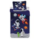 Astronaut Children's bedding cover 100 × 135 c