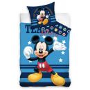 DisneyMickey pościel 140 × 200 cm, 70 × 90 cm